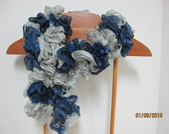 Dallas Cowboys & Detroit Lions Ruffle Scarf