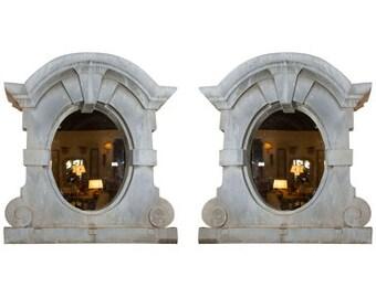Pair Of French Zinc Dormer Windows