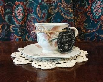 Handmade Organic Beeswax Teacup Candle