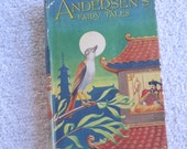 First Edition, Hans Andersen's Fairy Tales, hard cover, dust jacket, children's book,  circa 1930's?, 2/1214