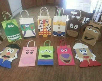 11 Toy Story inspired Party Favor Bags