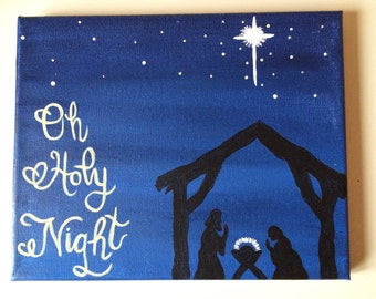 Oh Holy Night Canvas