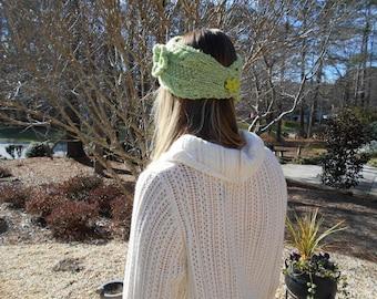 Sage green headband
