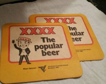XXXX The Popular Beer Coasters