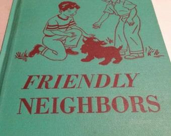 Friendly Neighbors Rand McNally  Social Studies. 1951