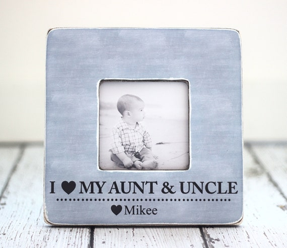 aunt uncle gift personalized picture frame auntie uncle from. Black Bedroom Furniture Sets. Home Design Ideas