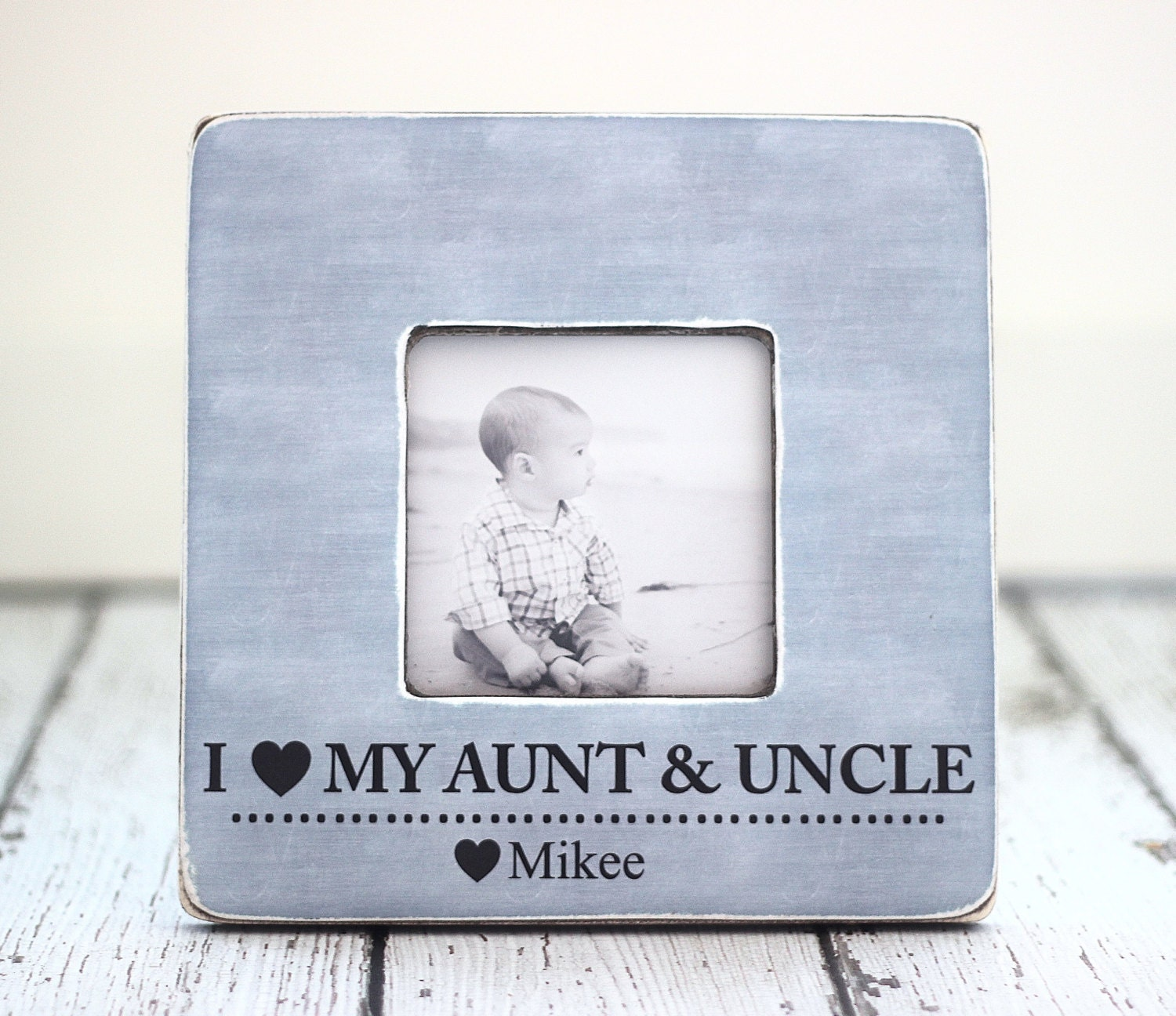 aunt uncle gift personalized picture frame auntie uncle from