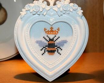 Queen Bee Cross Stitch