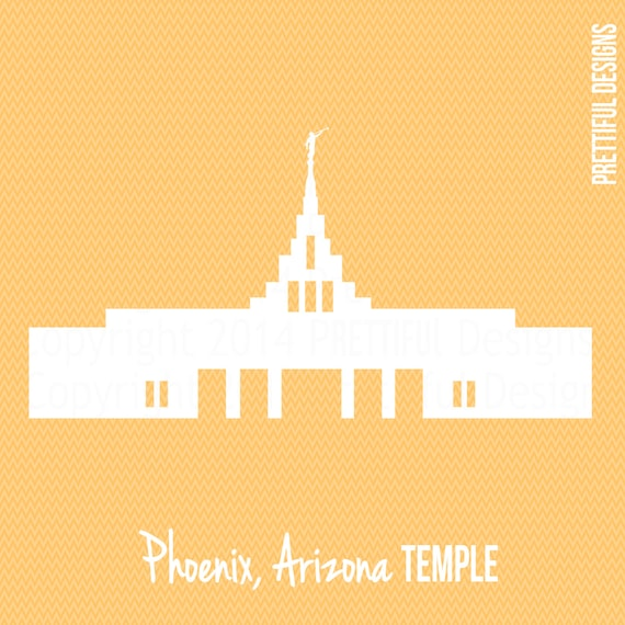 Arizona Temple LDS Mormon Clip Art png eps svg Vector