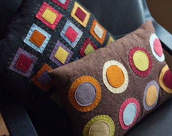 Decorative Wool Felt Pillow