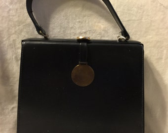 1960's Vintage Vinyl/Leather Purse