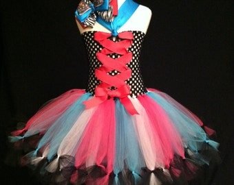 Monster High Tutu Dress and Bow