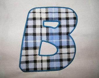 Applique Font #022 Machine Embroidery Monogram Font Alphabet Design Set INSTANT DOWNLOAD