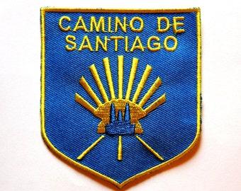 Camino de Santiago de Compostela Pilgrim Cloth Patch