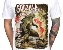 Godzilla officiel japonais roi des dinosaures Cartoon Movie Monsters T ...