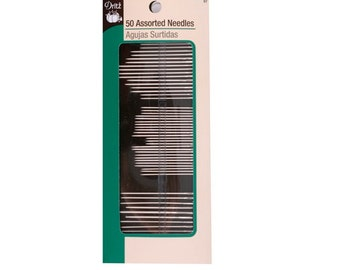 50 Assorted Hand Sewing Needles by Dritz Notions # D57
