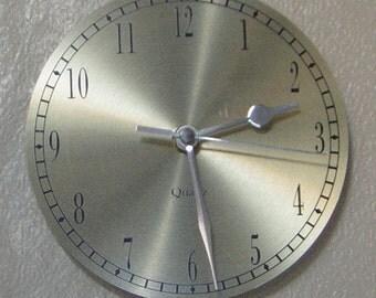 Lightweight Goldface Desk, Shelf and Wall Clock