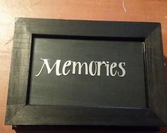Personalized memories box