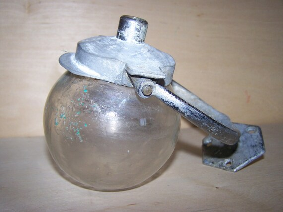 Antique Wall Mount Swinging Soap Dispenser Railroad Hotel