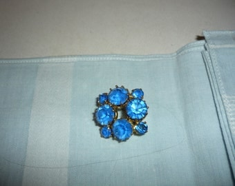 French vintage  tiny brooch art deco