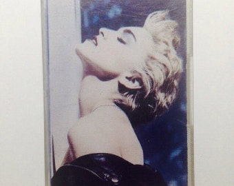 Madonna True Blue Cassette Tape 1986