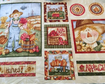 Red Rooster Happy Harvest panel