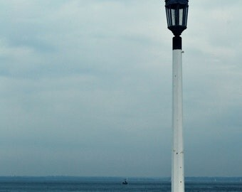 Lamp Post on Isle of Wight Pier Photograph print 8x6