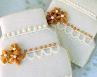 Wedding Cake Sugar Cookies