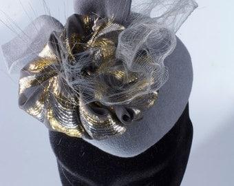 Vintage Style Cashmere Felt Hat