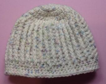 Crocheted Newborn Baby Cap