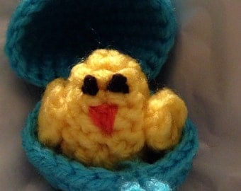 Chick in an egg