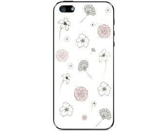 Flower pattern iPhone Case 4/4s 5/5c/5s 6/6 plus