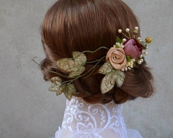 Wedding hairpiece vintage style