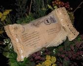 Shabby Sachet, Cottage Chic Sachet, Victorian Sachet, Lavender Sachet, Mother's Day Gift, Birthday Gift, Bowl Filler, Prim Sachet