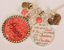 Sentimental Wedding Gifts For Your Sister : Personalized Step Daughter Half Sis ter Gift Wedding When I told your ...