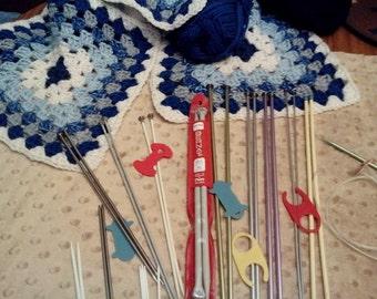 Vintage Knitting Needle Set-3
