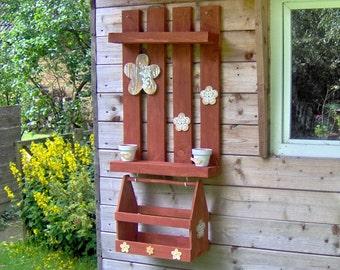 Pallet rack: Rustic