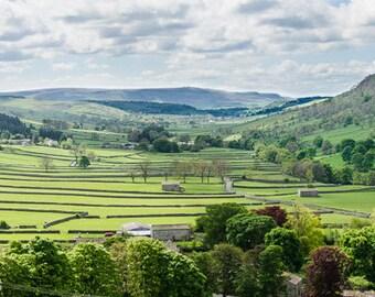 Wharfedale, Yorkshire, Photograph,  Print, Landscape