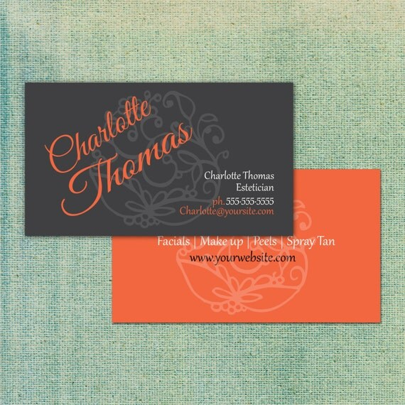 Stylish business cards thick paper standard business card for Thickness of business card