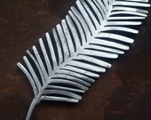 Unique handmade welded steel metal art decorative feather sculptures
