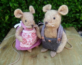 Felt Kit Father and Mother Mouse