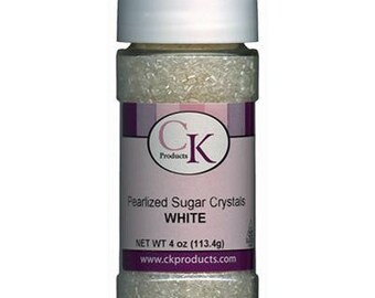 Peralized White Sugar Crystals