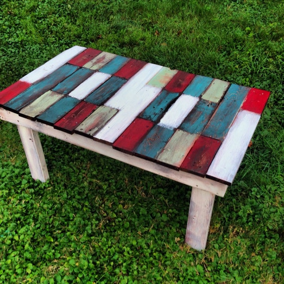 Reclaimed Wood Coffee Table Local Pickup Only By Hammerandiron