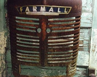 Farmall Tractor Grill