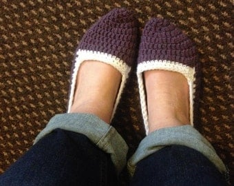 Custom Handmade crochet slipper socks unique