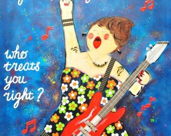 The guitar queen