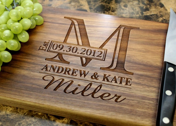 Loving these personalized cutting boards
