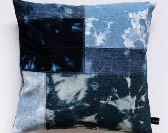 Denim Pillow Cover #2