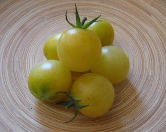 Snow White Cherry Heirloom Tomato Seeds, Naturally Grown in the Pacific NW