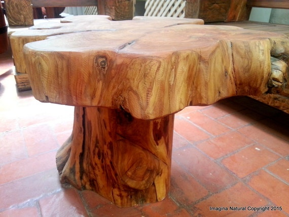 tree stump coffee table naturally unique cypress tree trunk handmade coffee table 11179